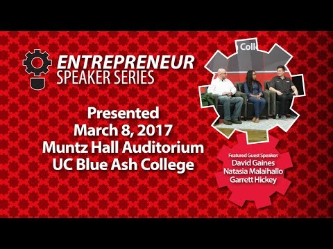 Entrepreneur Speaker Series, Three Startups
