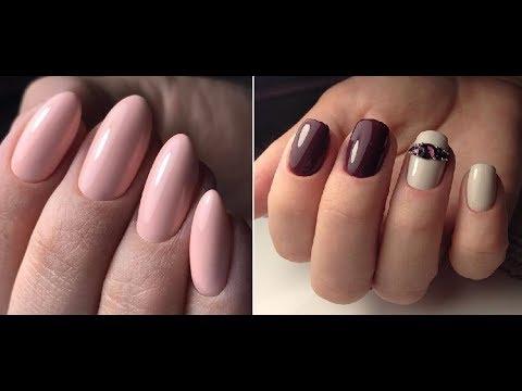 Классические ногти фото