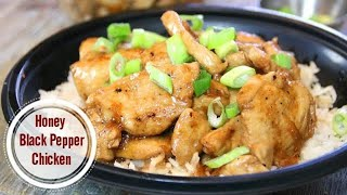 Honey Black Pepper Chicken in 30 Minutes