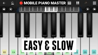 Ishqbaaz theme (Easy and slow) Pianon|Piano Keyboard|Piano Lessons|Piano Music|learn piano Online