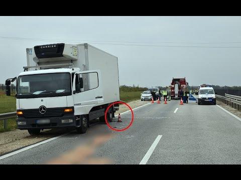 Halálos baleset az M86-oson - lengyel kamion sodorta el a magyar sofőrt