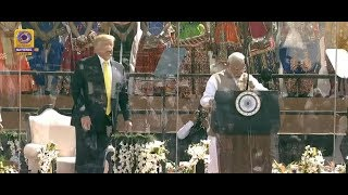 "Prime Minister Narendra Modi Addresses at the ""Namaste Trump"" Event"