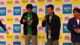 ガキ使DVDの宣伝で、ココリコ田中がイジリーに鼻をペロペロされてま...