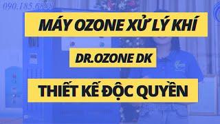 Máy khử mùi ozone công nghiệp, khử trùng công nghiệp, xử lý mùi công nghiệp