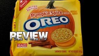 Oreo Pumpkin Spice Cookies - Tis The Season! | Freakeating Review 32