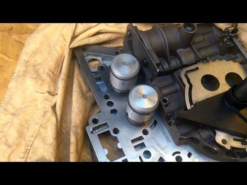 Afinación transmisión automática A604