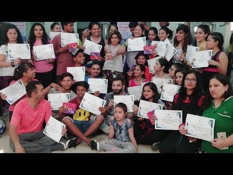 Vijaya Live Dance Workshop- Delhi| Let the music play | Vijaya Tupurani