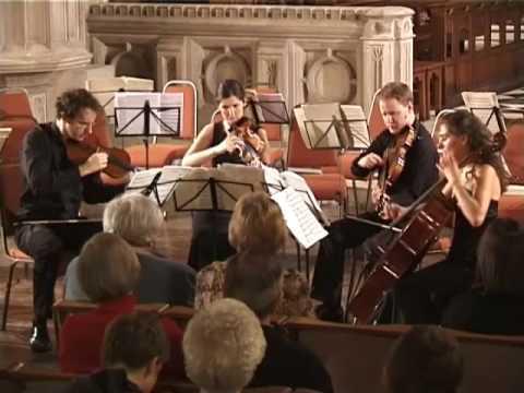 Bartok String Quartet No. 4 - Allegro pizzicato - Carducci String Quartet