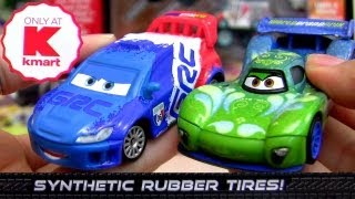 Carla Veloso synthetic rubber tires Raoul Caroule Cars 2 die-cast Kmart Collectors Event