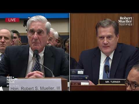 WATCH: Rep. Michael Turner's full questioning of Robert Mueller | Mueller testimony