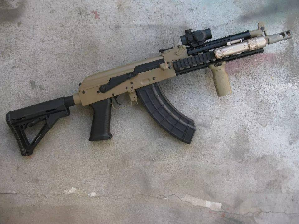 Review - Cyma AK-47 Tactical DE ( CM040I )