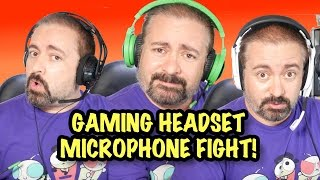 gaming headset microphone comparison