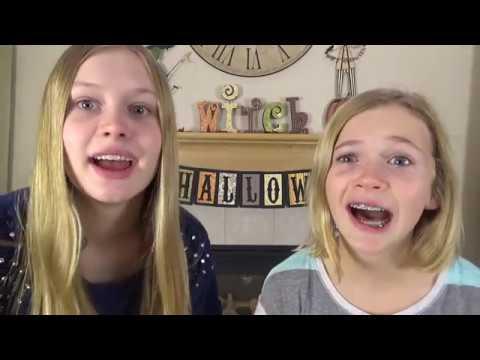 [SevenSuperGirls Reupload] Katherine & Rachael's Halloween Costume Competition!!!