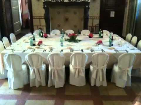 Decorazioni Sala Battesimo : Impostazione per battesimo in sala scudi youtube
