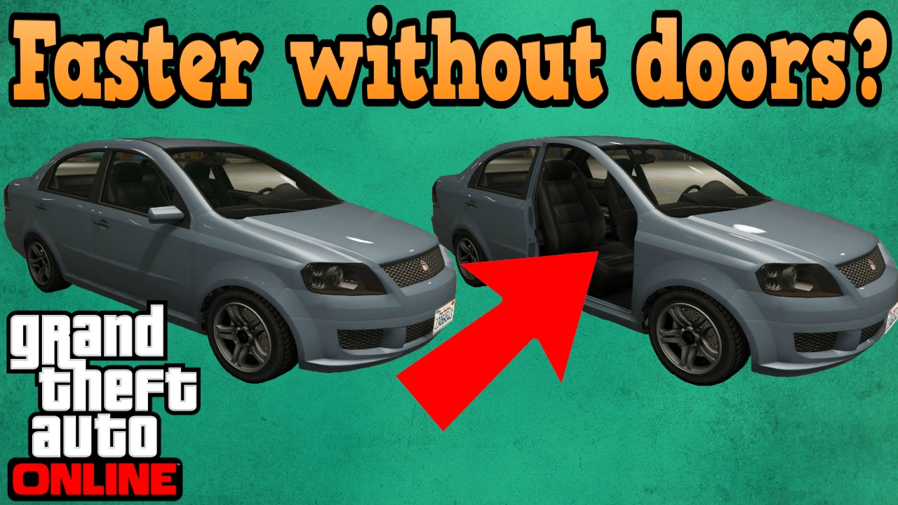 sc 1 st  YouTube & Do cars go faster without doors? - GTA online - YouTube