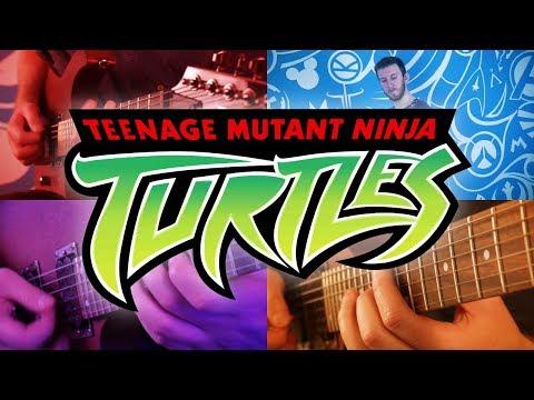Teenage Mutant Ninja Turtles (2003) Theme On Guitar