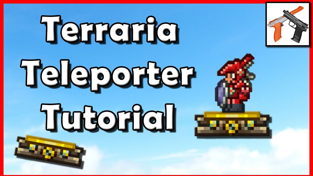 Terraria Teleporter Tutorial How To Build A Teleporter In Terraria Youtube Easy guide to teleporters and wiring in terraria, plus a tutorial on other basic mechanisms! terraria teleporter tutorial how to build a teleporter in terraria