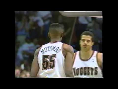 1994 Playoffs Utah@Denver Game 6 HIGHLIGHTS