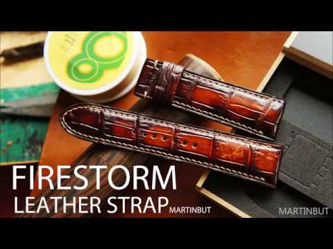 Making Patina Leather Strap-FireStorm-How-it-Made-Handmade