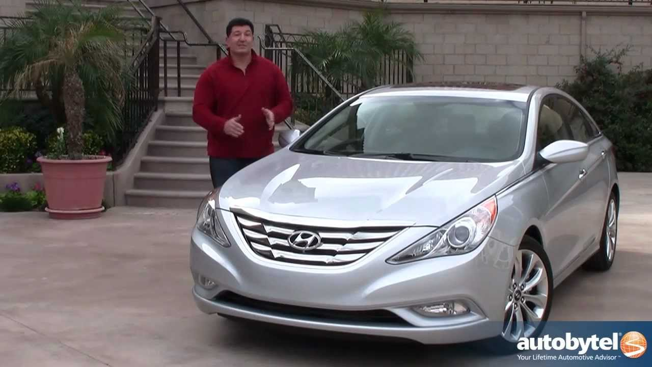 2012 Hyundai Sonata Test Drive Amp Car Review Youtube