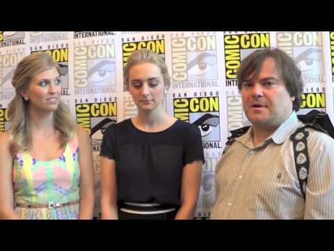 Amanda Lund, Maria Blasucci and Jack Black Talk Ghost Ghirls
