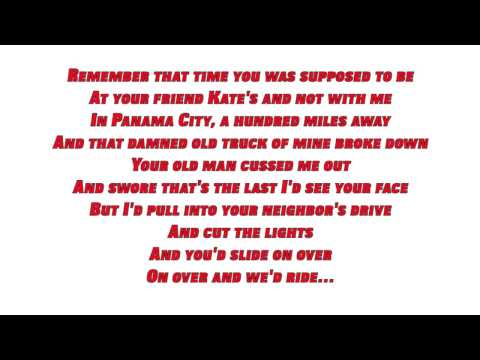 Kip Moore - Young Love (Lyrics)