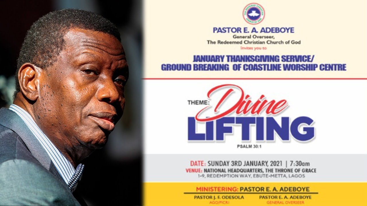 Download PASTOR E.A ADEBOYE SERMON - DIVINE LIFTING