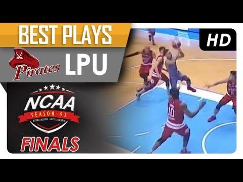 Jaycee Marcelino rips through the San Beda defense! | LPU  | Best Plays | NCAA 93