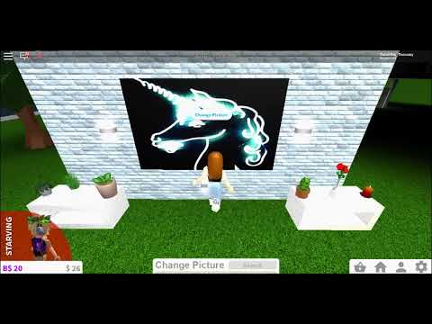 Unicorn Decal Id Codes For Roblox Bloxburg Youtube