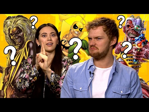 Iron Maiden or Iron Fist? Quiz with Finn Jones