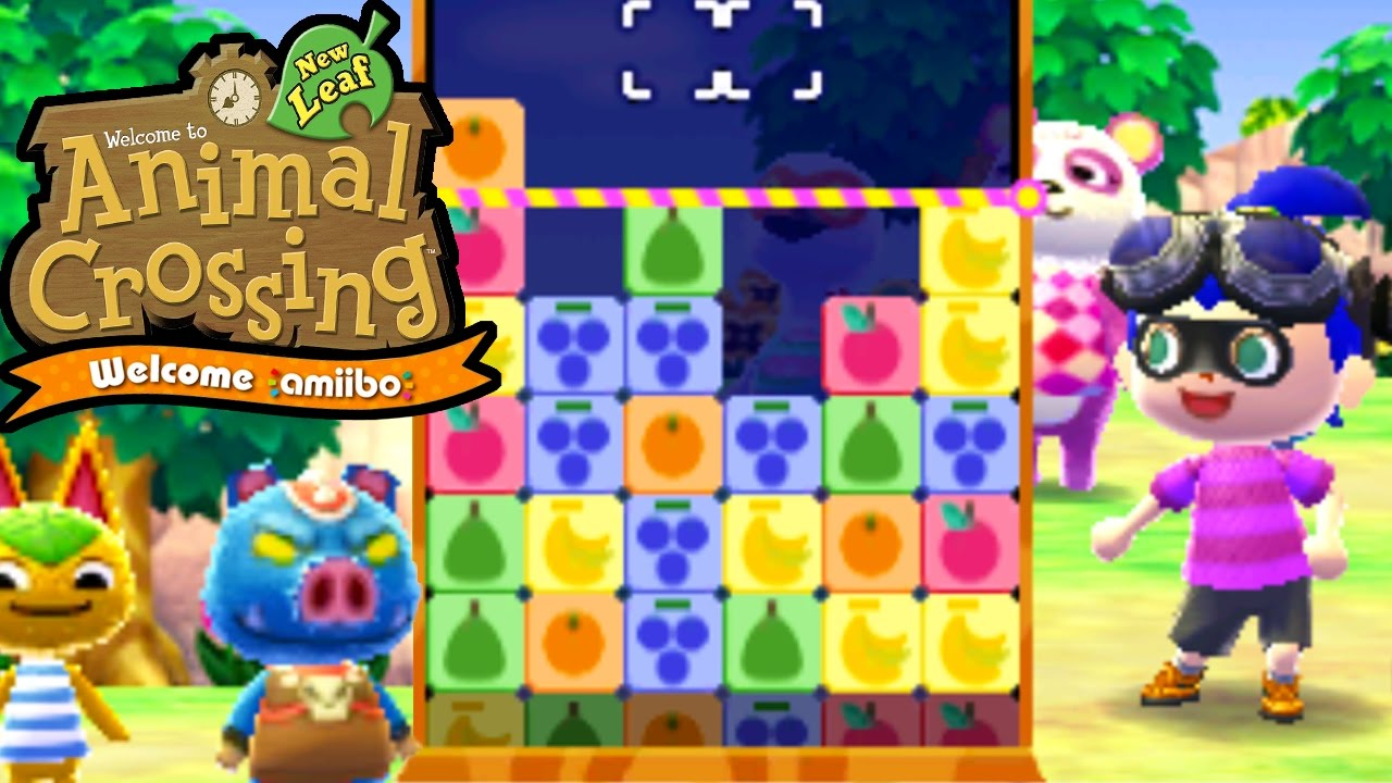 Animal Crossing: New Leaf - Welcome amiibo Update! - AC Puzzle League - 3DS  Gameplay Walkthrough