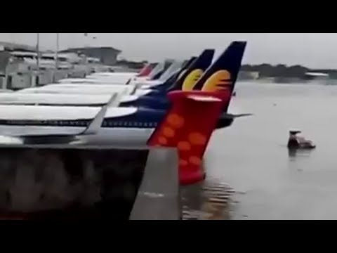 Chennai Flood | Chennai Airport is Flooded | Media Directory