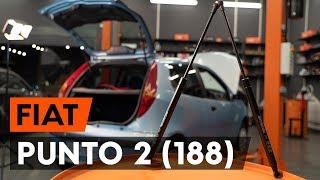 Cómo reemplazar Bombín de freno de rueda PUNTO (188) - vídeo manual paso a paso
