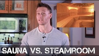 Boost Metabolism: Steamroom vs. Sauna - Which is Better? - Thomas DeLauer