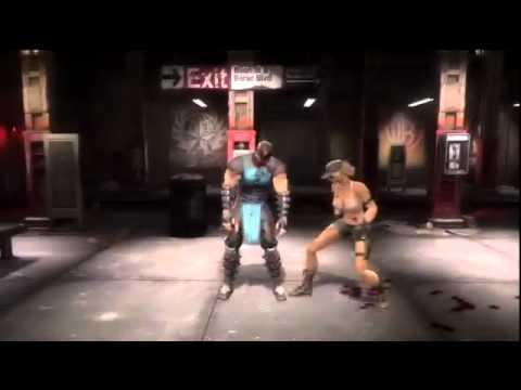 Mortal Kombat 9 Todos los Fatalities de Escenarios