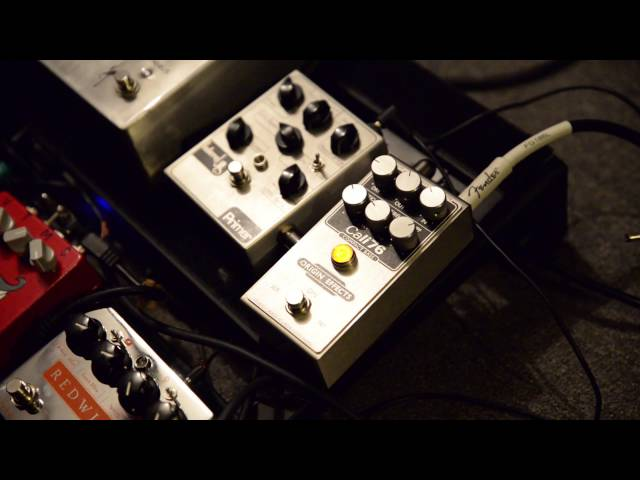 Origin Effects Cali76-CB Bass Compressor Demo