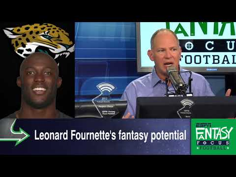 Is Leonard Fournette's Fantasy Hype All Talk? | Fantasy Focus | ESPN