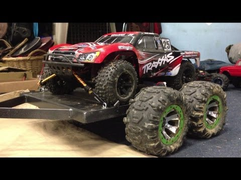 RC Car Trailer Build - YouTube