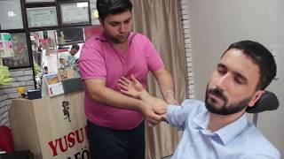 ASMR Turkish Barber Face, Head and Body Massage 144 👍👍💆‍♂️💈