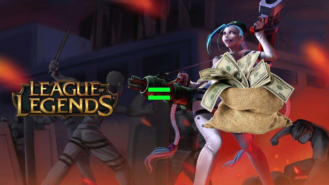 игры на деньги league of legends