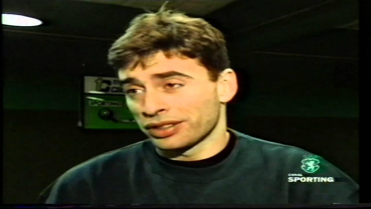 Tenis de Mesa :: Pedro Miguel e Rogério Alfar campeões nacionais de pares pelo Sporting em Fevereiro de 1999