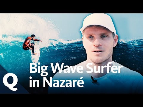 Nazaré: Surfen auf der Riesenwelle   Quarks
