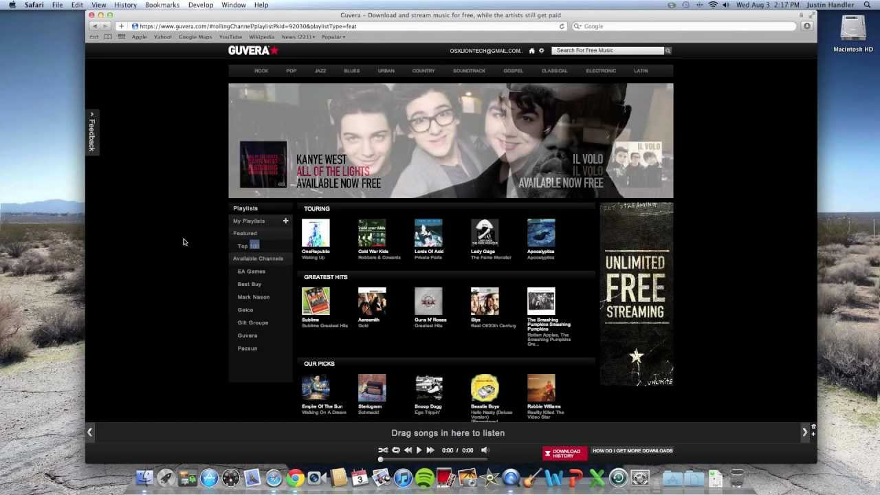 Free Music Downloads 100 Legal Really Works Youtube