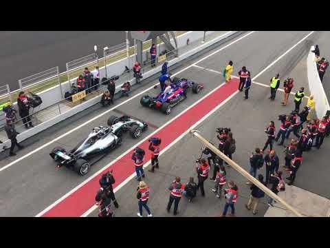 Toro Rosso vs Mercedes