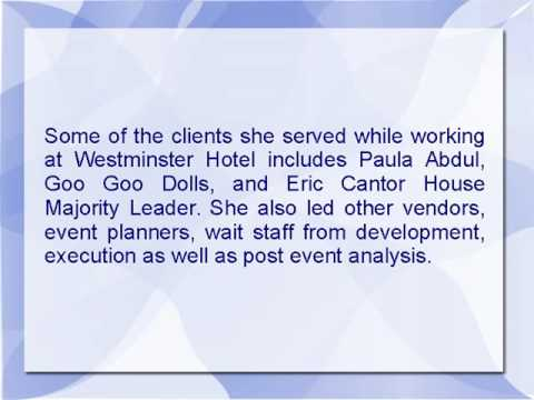 Amy Cimber Is An Event Manager With Over Two Decades Of Experience