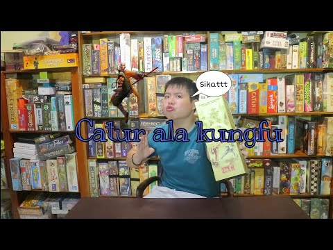 Onitama : Permainan Board game catur ala kungfu !! Review & Tutorial ! thumbnail