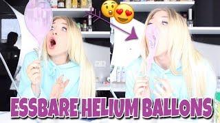 Ich mache ESSBARE HELIUM BALLONS 😏😍🎈 | BibisBeautyPalace