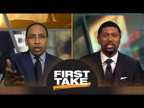 Stephen A. Smith and Jalen Rose have heated debate about Rockets vs. Warriors | First Take | ESPN