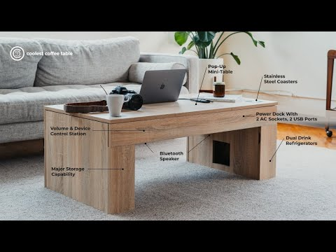 Download Now on Kickstarter: The Coolest Coffee Table