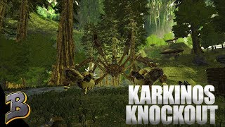 How To Knockout A Karkinos! (Aberration) Ark Survival Evolved Ep 10